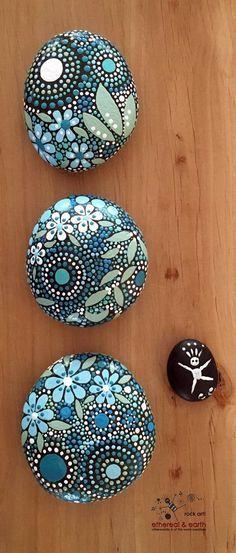DIY Mandala Stone Patterns To Copy (17)