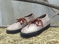 Felted Boots for MEN Snow boots Winter shoes by FeltingBottega