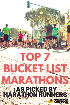 Here are my top 7 Bucket List Marathons to inspire you and add to your list - I asked our community of experienced marathon runners to pick their favourite marathons to add to this bucket list, and they didn't disappoint!  Get inspired today !