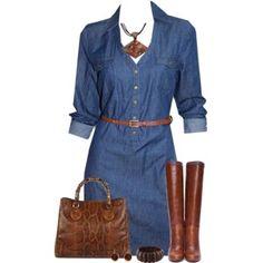 Denim Dress, yes!!!! Cf