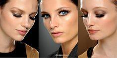 Gucci Spring 2013: Backstage Makeup