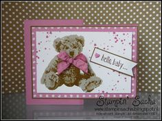 Stampin' Up! In de Spotlight: Baby Bear (Z-Fold Kaart)