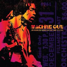 $13.98 Machine Gun Jimi Hendrix The Fillmore East 12/31/1969 (FIRST SHOW) Jimi Hendrix  #shop #classic #rock #music #collection