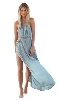 The Orchard Maxi Split Dress