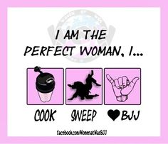 Perfect woman. JIU-JITSU