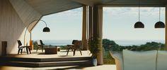 Modern #interior #design rendered with Blender 3D