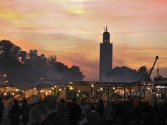 Marrakech, Morocco - a hectic place