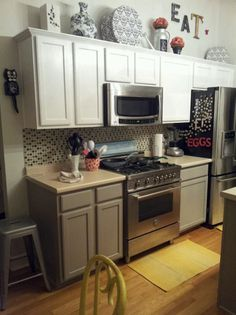 Pinterest the world s catalog of ideas How to decorate the top of your kitchen cabinets