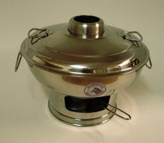 Stainless Steel Hot Pot medium size 142325 -- Details can be found by clicking on the image.