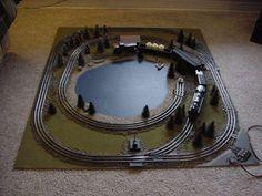 micro train layouts - Google Search