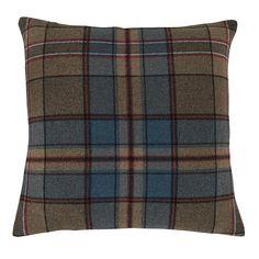 Tartan Pillow | Ballard Designs Beige Sectional, Tartan Throws, Floral Bedding, Drapery Panels, Ballard Designs, Blue Tones, Designer Throw Pillows, Habitats, Decorating Your Home