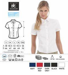 URID Merchandise -   CAMISA B&C SHARP SENHORA MANGA CURTA   21.04 http://uridmerchandise.com/loja/camisa-bc-sharp-senhora-manga-curta/