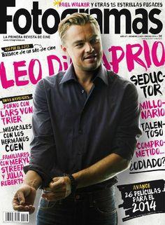 Fotogramas Magazine [Spain] (January 2014) Leonardo DiCaprio