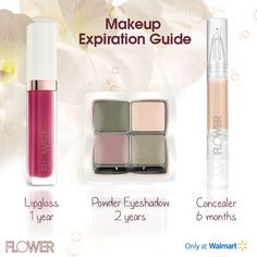 #FLOWERBeauty #PowerTip: We're halfway through the year so double-check the freshness of your make up.