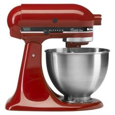 HOUSE - $230 - RED or GREY KitchenAid Classic 4.5 Qt Stand Mixer