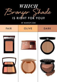 Which Bronzer Shade Is Right for You?