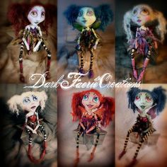 OOAK Art Doll Faerie