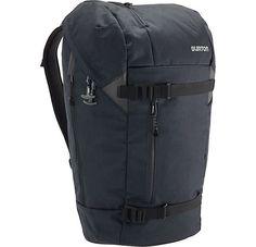 Lumen Backpack By Burton, In True Black Heather Twill.