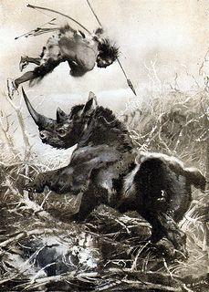 wooly_rhino_hunter_by_zdenek_burian