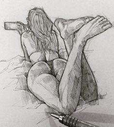 """10.1 mil Me gusta, 38 comentarios - Efraín Malo (@maloart) en Instagram: """"Monday ✍️ #graphgear500 #sketching #graphite"""""""