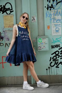 Want to dress like an ocean and a girl all in one?http://www.manrepeller.com/2015/07/how-to-dress-vintage.html