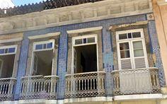 Azulejos antigos no Rio de Janeiro: Catete I - rua Bento Lisboa
