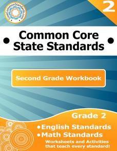 Common Core State Standards: Second Grade Workbook Worksheet