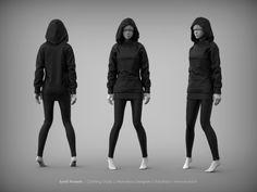 MD Clothing Studies, Eyad Hussein on ArtStation at https://www.artstation.com/artwork/kZBGn