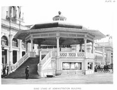 Band Stand at Administration Building