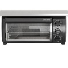 Search Black and decker toaster oven under cabinet mount. Black And Decker Toaster, Black Toaster, Specialty Appliances, Small Appliances, Kitchen Appliances, Under Counter Toaster Oven, Toaster Ovens, Small Electric Oven, Stainless Steel Toaster