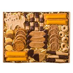 Bow Wow Sampler Tray - http://doggiesandstuff.com/2013/12/11/holiday-gift-guides-giveaway-a-day-three-dog-bakery-2/#comment-104645