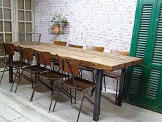 custom made industrial table