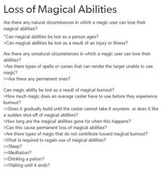 Loss of magical abilities writing ideas, fantasy writing prompts, writer prompts, writer tips Creative Writing Prompts, Book Writing Tips, Writing Words, Writing Resources, Writing Help, Writing Skills, Writing Ideas, Writing Inspiration Prompts, Once Upon A Tome