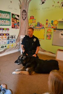Bringing in a real life example of a community helper, such as a police man, would allow students see first hand what they have been learning about. Bring in a dog would just add to the excitement!