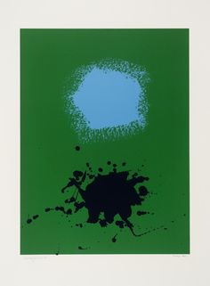 'Blues on Green', Adolph Gottlieb | Tate