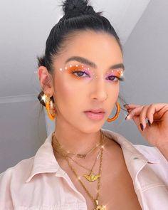 Rave Makeup, Edgy Makeup, Makeup Eye Looks, Eye Makeup Art, Skin Makeup, Exotic Makeup, Fairy Makeup, Makeup Trends, Makeup Inspo