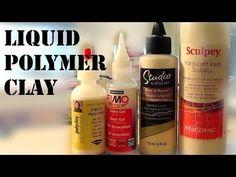 Polymer Clay Close-up; Liquid Clay  ~ Polymer Clay Tutorials