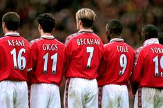 Manchester United - Keane, Giggs, Beckham, Cole, Yorke