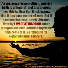LAW OF ATTRACTION!!!!