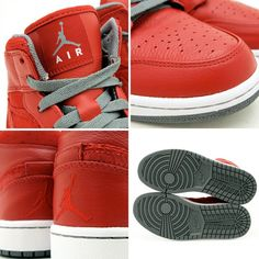 "Air Jordan 1 Phat ""Varsity Red/Cool Grey/White"""