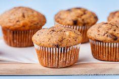 muffiny jak chlebek bananowy Muffin, Breakfast, Food, Morning Coffee, Muffins, Meals, Cupcakes, Yemek, Eten