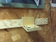 If you haven't heard of a French cleat, it is a system made up of two cleats that are cut at a 45 degree angle. One is attached to the wall, then the other is attached to the back of a holder. This way you can set the holder on the cleat that's on the […] Garage Organization Tips, Garage Tool Storage, Garage Tools, Garage Workshop, Organizing, French Cleat System, Woodworking Tool Kit, Diy Tools, Power Tools