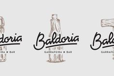 Baldoria – Garrafeira x Bar by Another Collective, via Behance