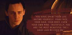 *sigh* I wish. ♥ Loki's Dirty Whispers