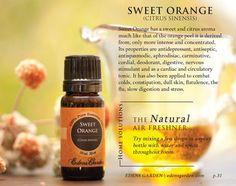 Sweet Orange Essential Oil: