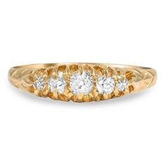 18K Yellow Gold The Lasandra Ring from Brilliant Earth