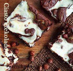 Ciasto czekoladowo - sernikowe