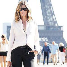 Love the laid back Paris style