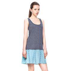 Round Collar SlimFit Tank Dress http://everyFashion.storenvy.com