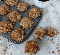 April 7: National Coffee Cake Day | Coffee Cake Muffins